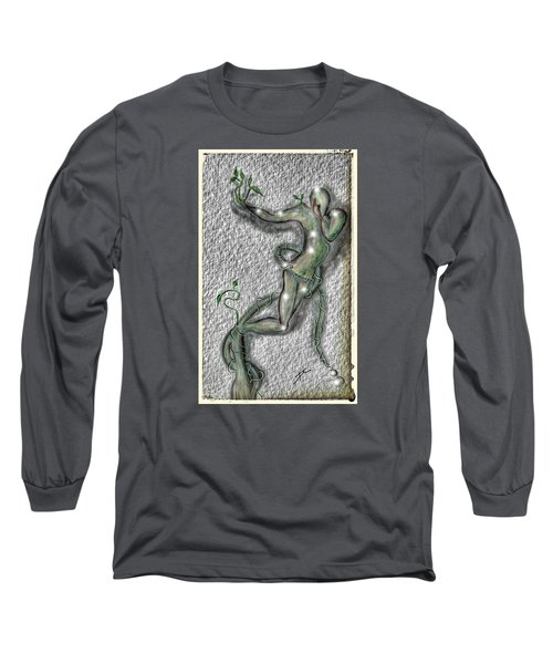 Nature And Man Long Sleeve T-Shirt by Darren Cannell