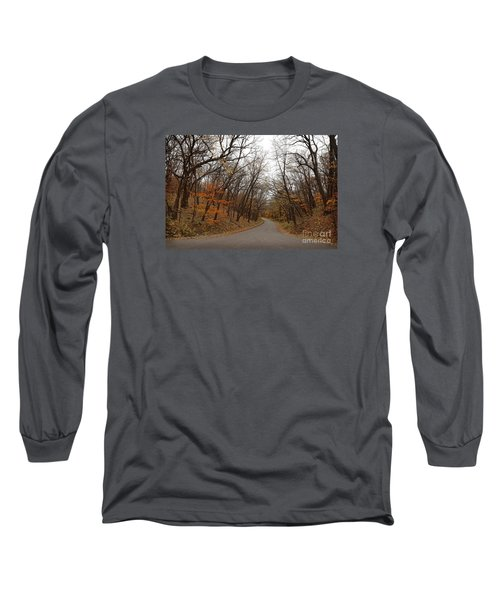 Nature Trail 3 Long Sleeve T-Shirt by Yumi Johnson