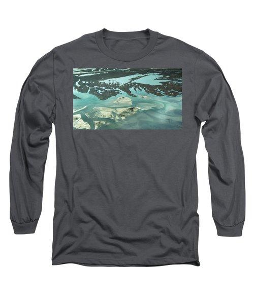 Natures Art On Barnegat Bay Long Sleeve T-Shirt
