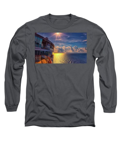 Natures Beauty At Sea Long Sleeve T-Shirt