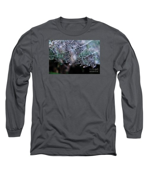 Nature's Lace Long Sleeve T-Shirt by Rebecca Davis