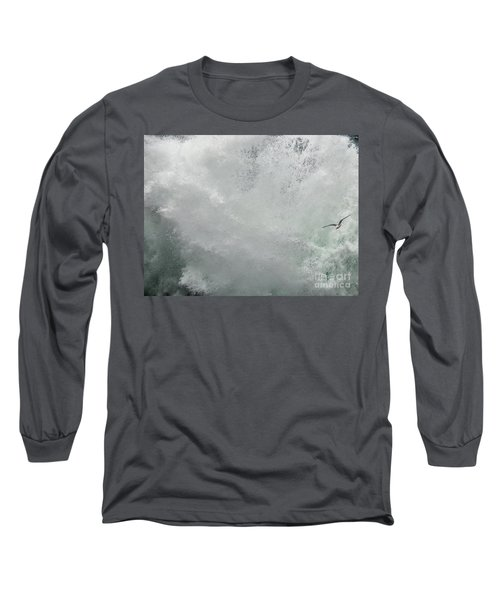 Long Sleeve T-Shirt featuring the photograph Nature's Power by Peggy Hughes