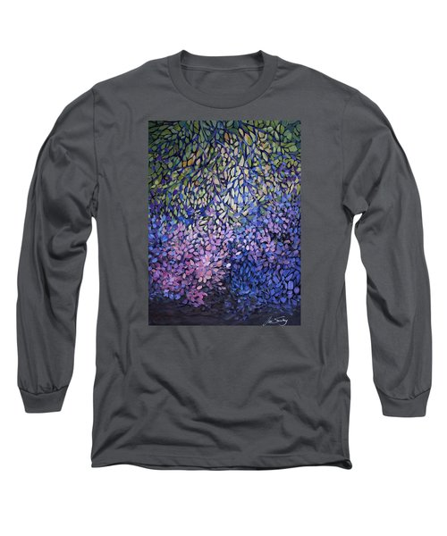 Natures Stain Glass Symphony Long Sleeve T-Shirt by Joanne Smoley