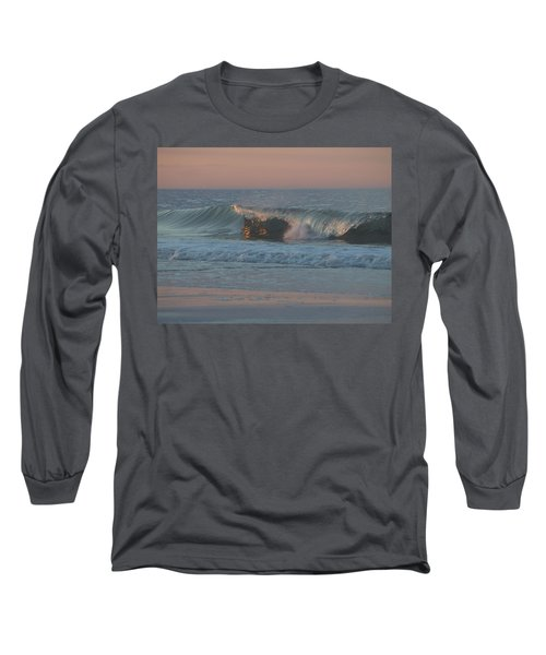 Long Sleeve T-Shirt featuring the photograph Natures Wave by  Newwwman