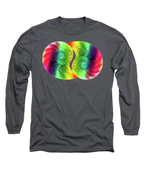 Nautilus Rainbow Long Sleeve T-Shirt