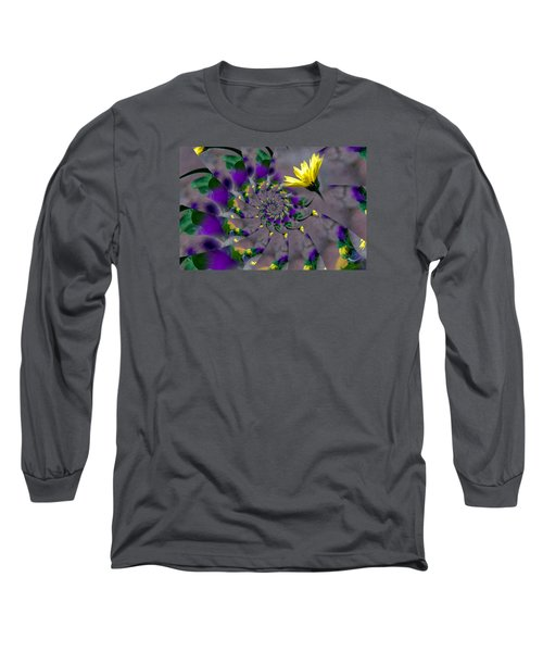 Nautilus Swirls Long Sleeve T-Shirt