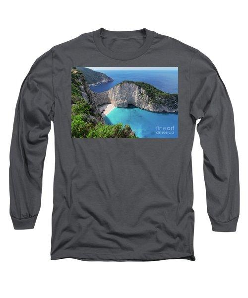 Navagio Beach Long Sleeve T-Shirt