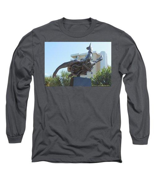 Navy Seal Long Sleeve T-Shirt by Nance Larson