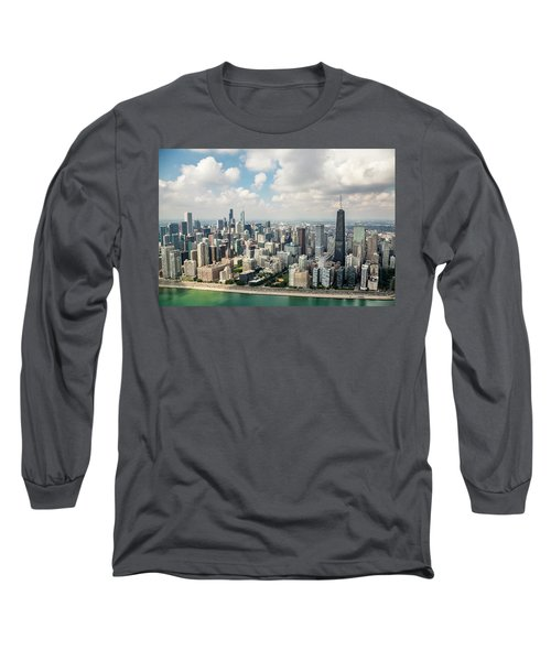 Near North Side And Gold Coast Long Sleeve T-Shirt