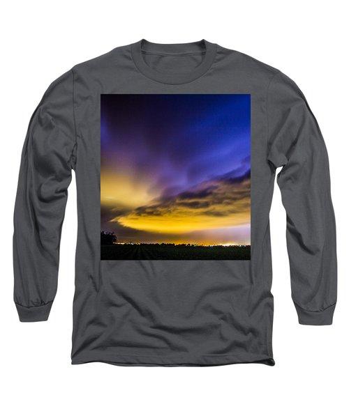 Nebraska Night Beast 021 Long Sleeve T-Shirt