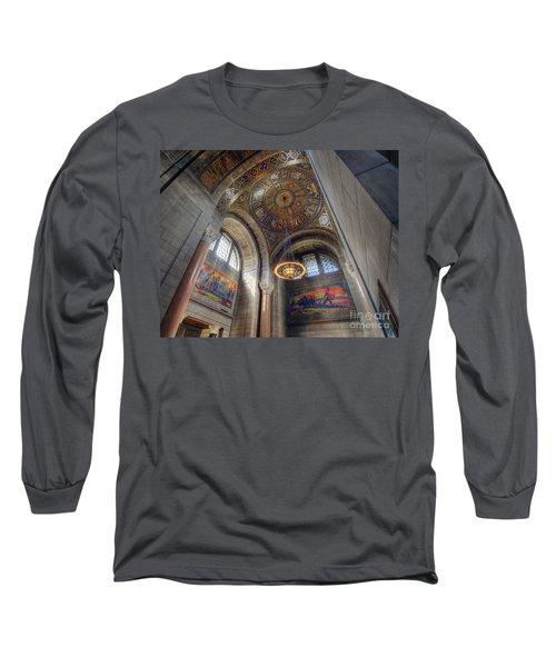 Nebraska State Capitol Long Sleeve T-Shirt