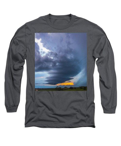 Nebraska Supercell 025 Long Sleeve T-Shirt