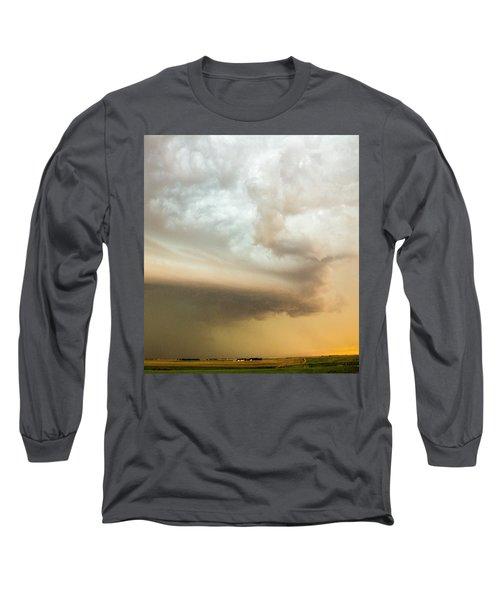 Nebraska Thunderstorm Eye Candy 005 Long Sleeve T-Shirt