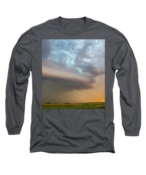 Nebraska Thunderstorm Eye Candy 006 Long Sleeve T-Shirt
