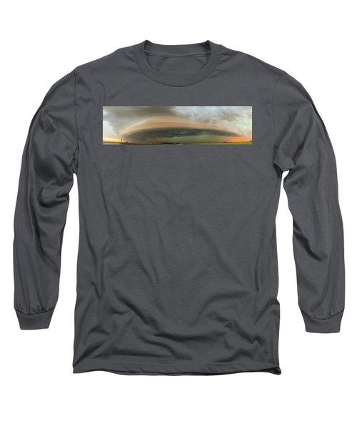 Nebraska Thunderstorm Eye Candy 020 Long Sleeve T-Shirt