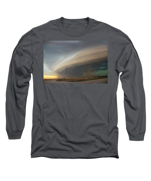 Nebraska Thunderstorm Eye Candy 026 Long Sleeve T-Shirt