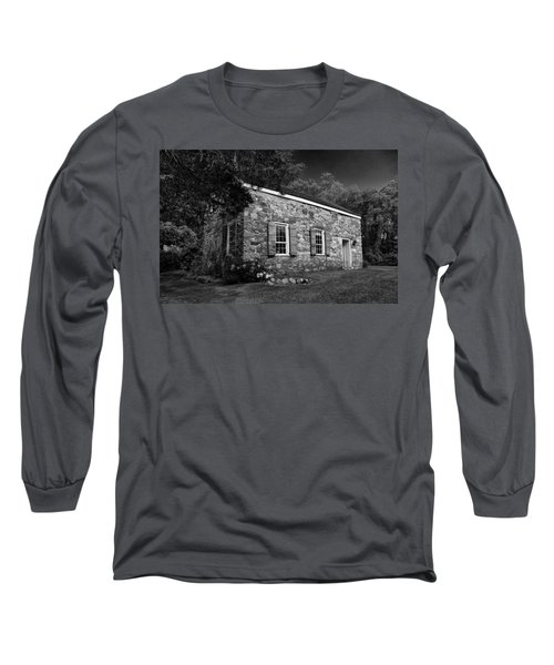 Neldon - Roberts Stonehouse Montague New Jersey Black And White Long Sleeve T-Shirt