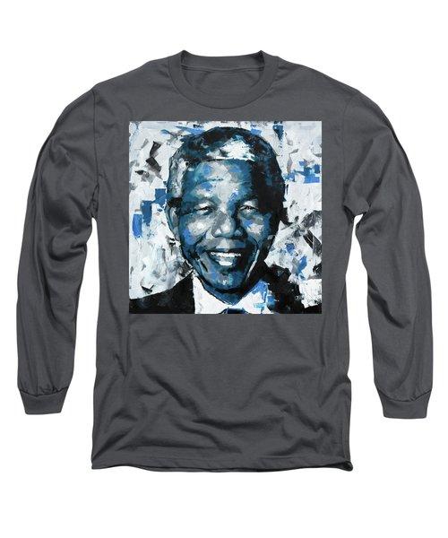 Nelson Mandela II Long Sleeve T-Shirt