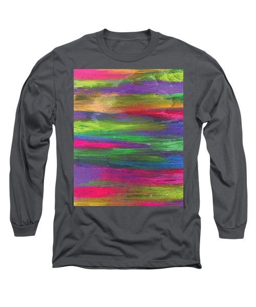 Neon Rainbow Long Sleeve T-Shirt