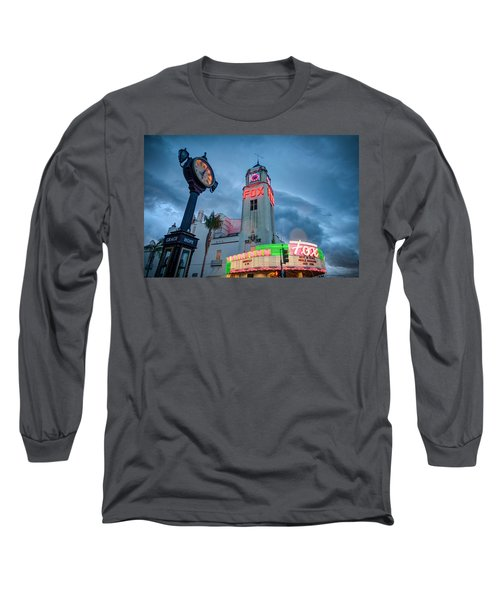 Neon Sign Rip Merle Haggard Long Sleeve T-Shirt