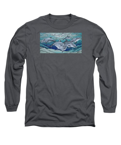 Nereus' Guardians Long Sleeve T-Shirt by William Love