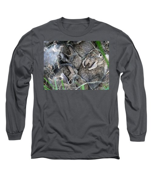 Nestled In Their Den Long Sleeve T-Shirt
