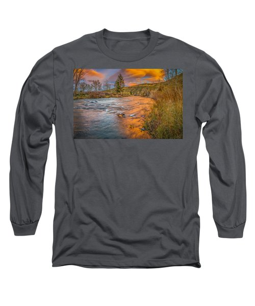 Nevada Gold  Long Sleeve T-Shirt by Scott McGuire