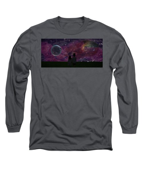 Never Alone Part 2 Long Sleeve T-Shirt