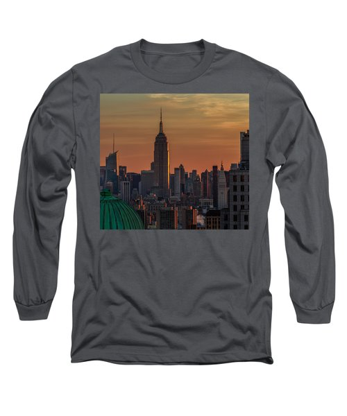 Long Sleeve T-Shirt featuring the photograph Never Give Up On Your Dreams  by Anthony Fields