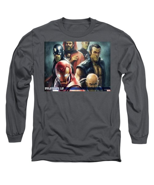 New Avengers Long Sleeve T-Shirt
