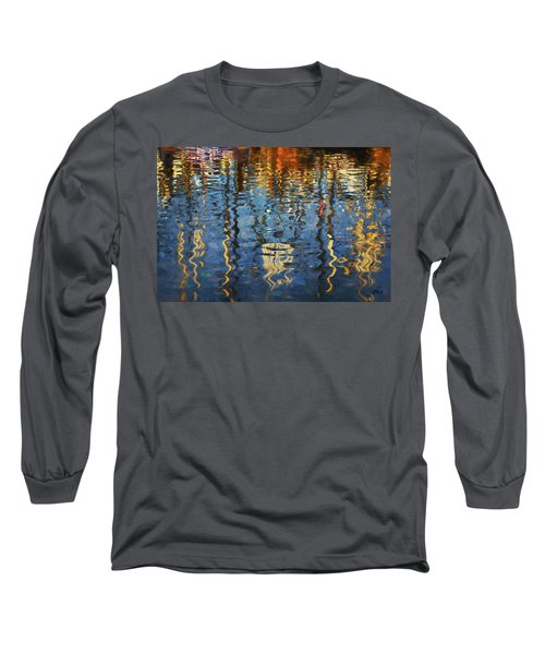 New Bedford Waterfront No. 5 Long Sleeve T-Shirt