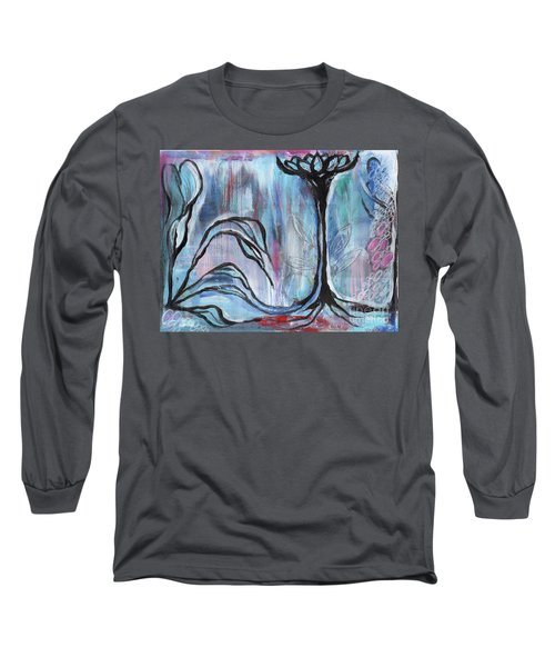 New Beginnings Long Sleeve T-Shirt by Angela Armano