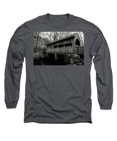New England Covered Bridge Long Sleeve T-Shirt