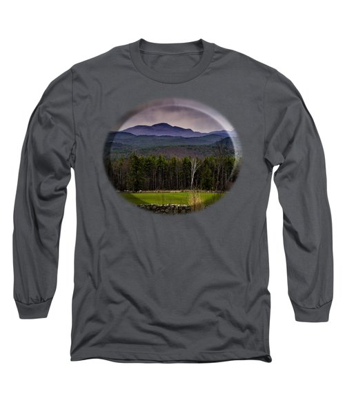 New England Spring In Oil Long Sleeve T-Shirt