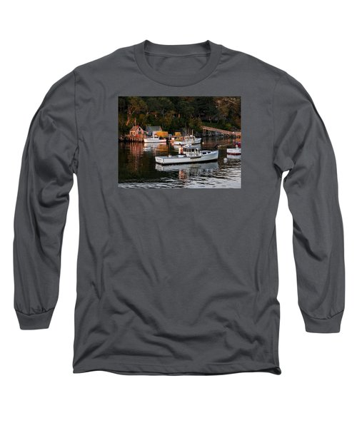 New Harbor, Maine Long Sleeve T-Shirt