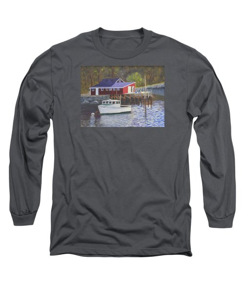 New Harbor Sunrise Long Sleeve T-Shirt