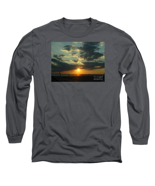 Long Sleeve T-Shirt featuring the photograph New Horizon by Lyric Lucas