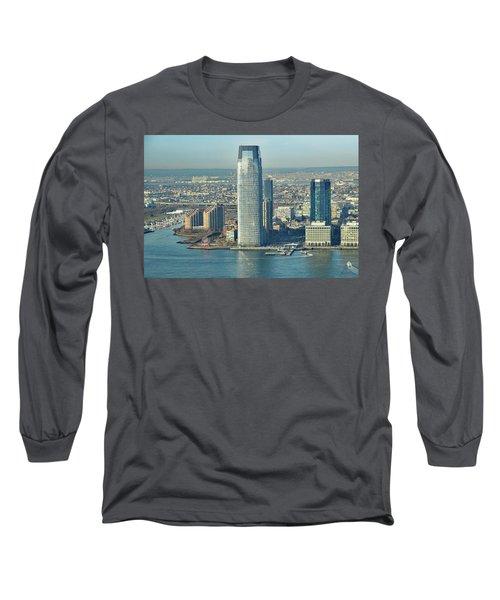 New Jersey Skyline Long Sleeve T-Shirt