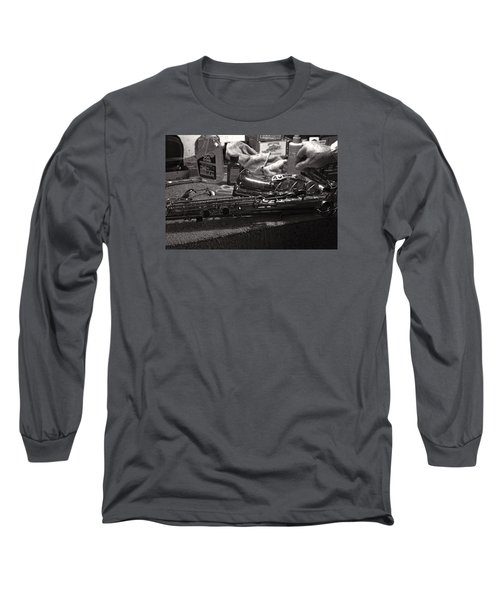 New Life For A Old Saxophone Long Sleeve T-Shirt