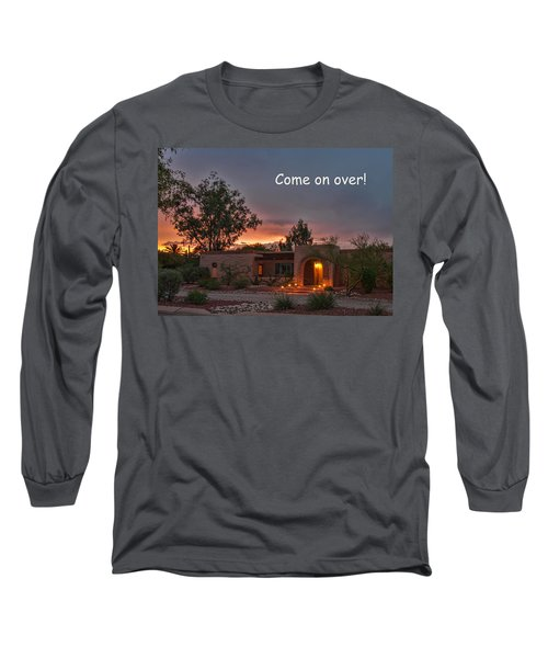 Long Sleeve T-Shirt featuring the photograph New Neighbors Card by Dan McManus