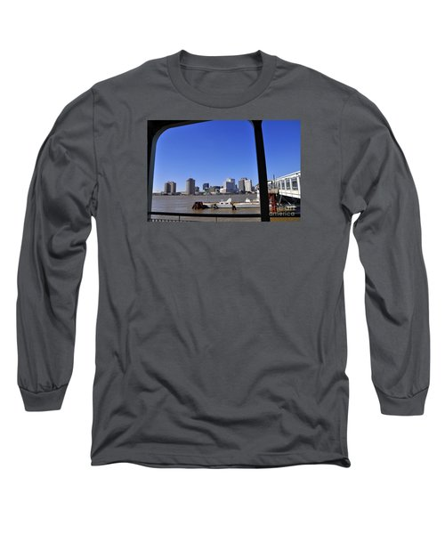 New Orleans Skyline Long Sleeve T-Shirt