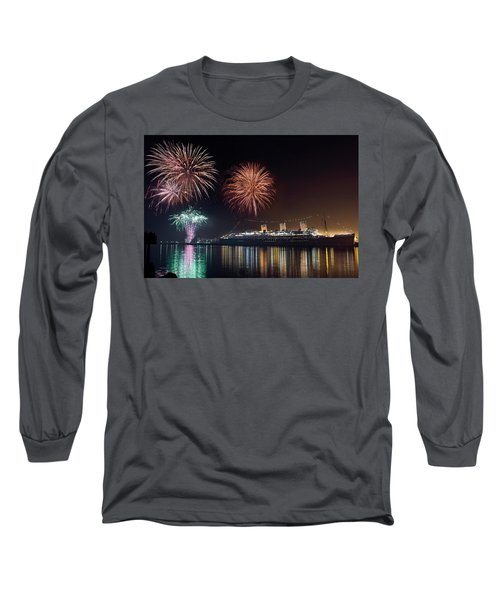 New Years With The Queen Mary Long Sleeve T-Shirt