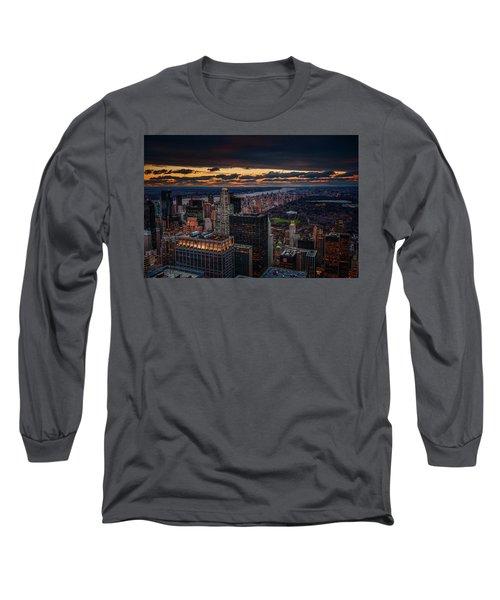 New York Gold Long Sleeve T-Shirt