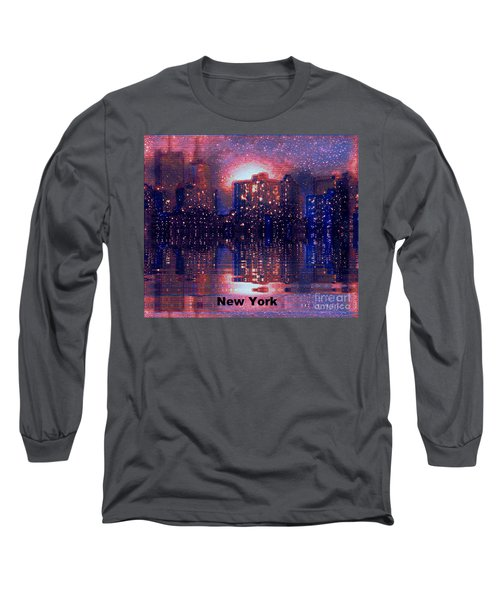 New York Long Sleeve T-Shirt by Holly Martinson