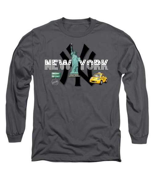New York No 01 Long Sleeve T-Shirt