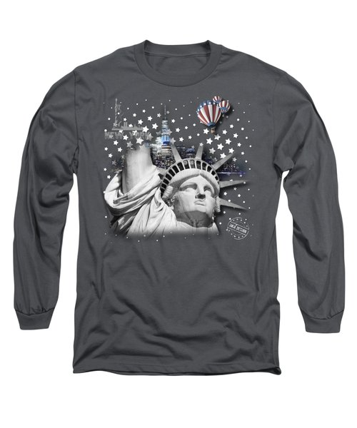 New York No 02 Long Sleeve T-Shirt