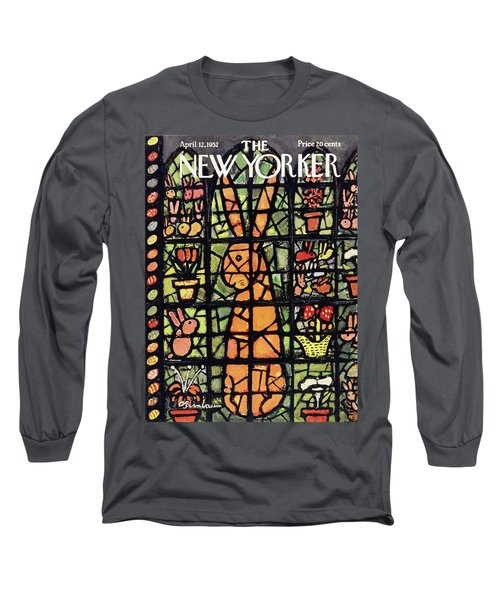 New Yorker April 12 1952 Long Sleeve T-Shirt