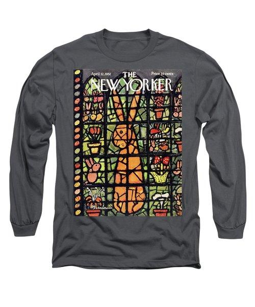 New Yorker April 12 1952 Long Sleeve T-Shirt