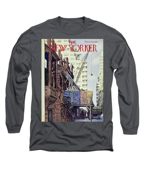 New Yorker April 27 1957 Long Sleeve T-Shirt