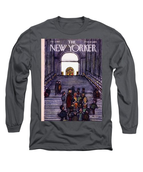 New Yorker December 3 1955 Long Sleeve T-Shirt